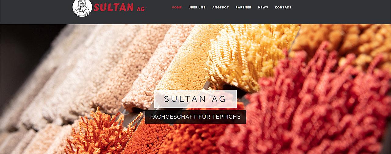 Neuer Webauftritt der SULTAN AG